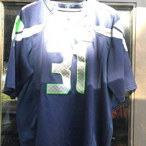 Seattle Seahawks Chancellor #31Jersey Size L